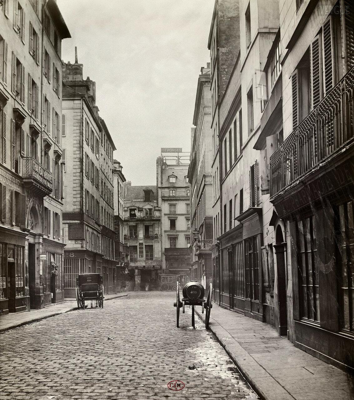 Рю Клуатр Сен-Жак. 1866