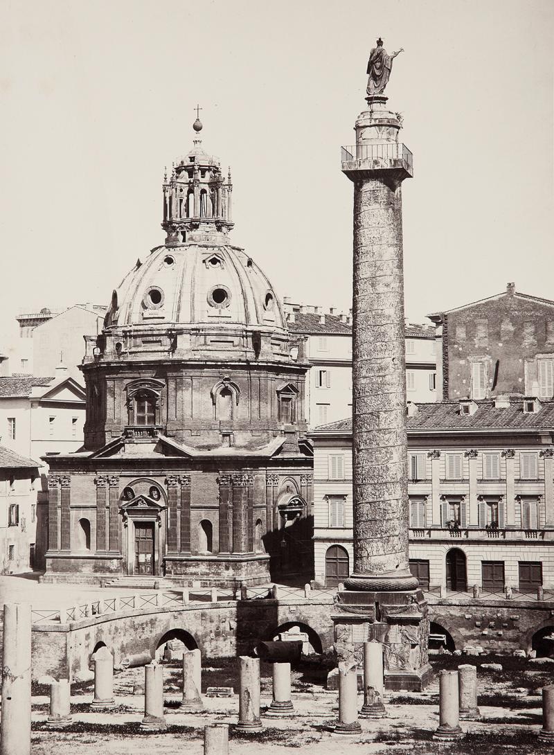 Колонна Траяна, 1858