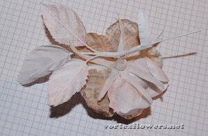 Мастер-класс. Роза  с газетным принтом «Lady Print» от Vortex  0_fc13e_f0d9c567_M