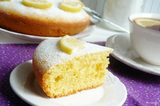 английский лимонный кекс