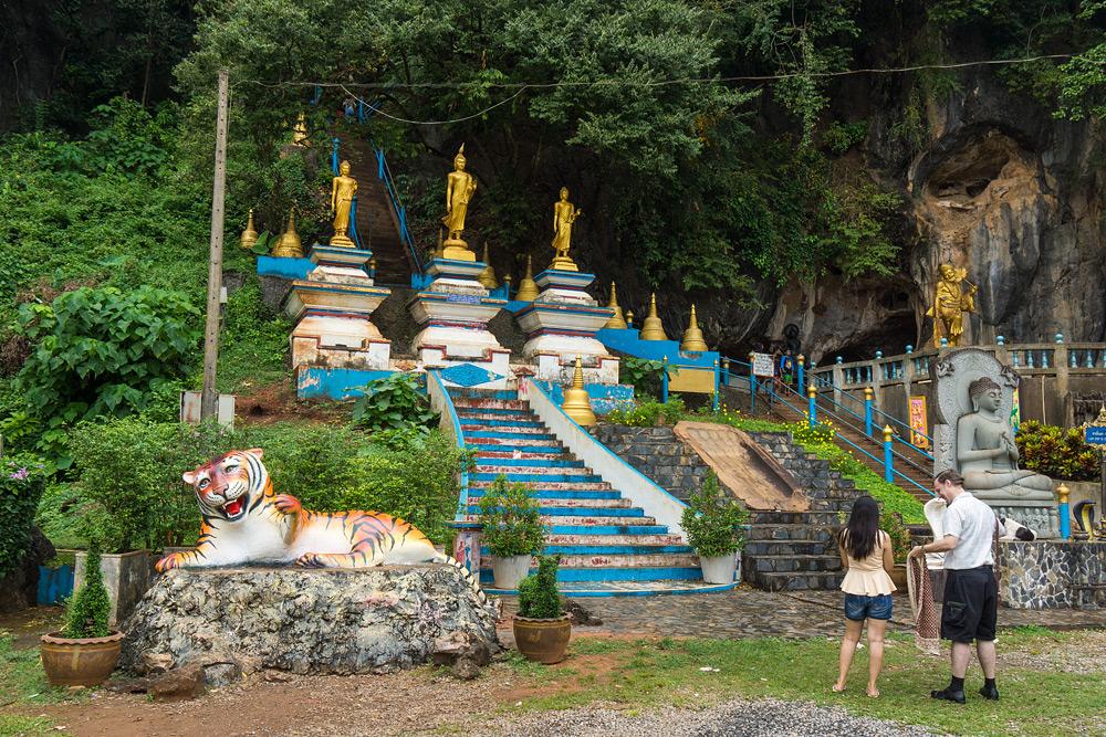 Отзывы Тигровая пещера Краби. Что посмотреть в Краби. Экскурсии в Ао Нанге. Как добраться до Тигровой пещеры в Краби.
