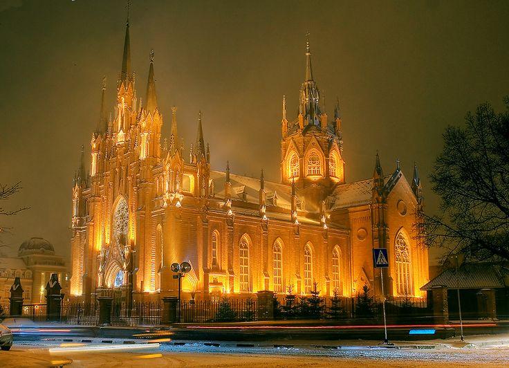 Католический собор в Москве