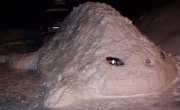 Веселые снеговики отмечают праздник снеговиков
