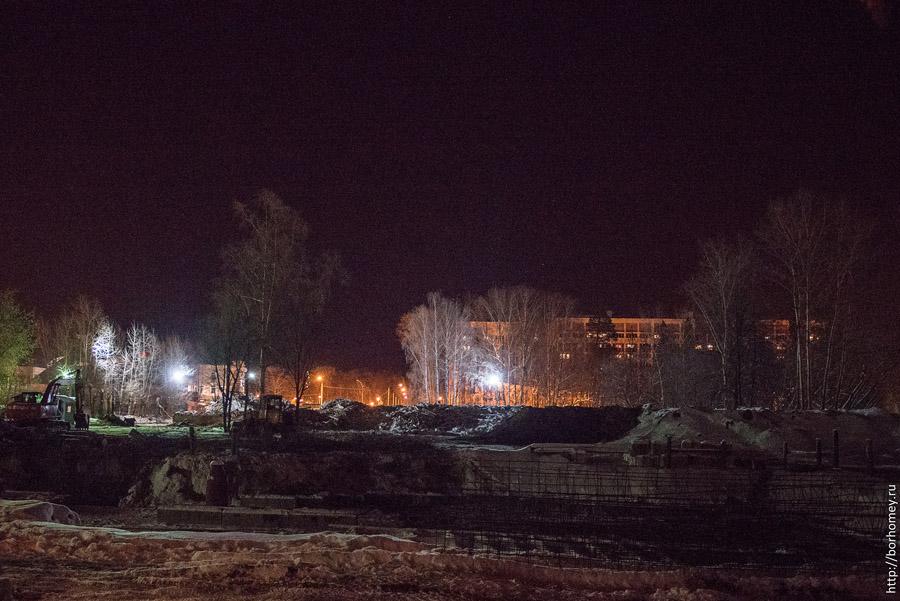 руины вечерней школы в Сарове