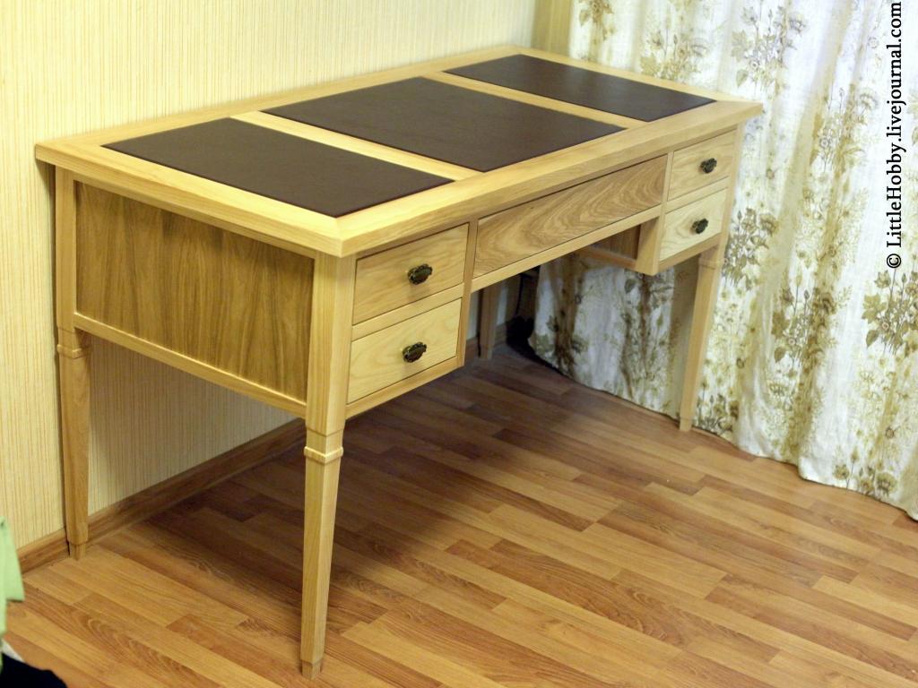 Классический письменный стол своими руками: littlehobby.