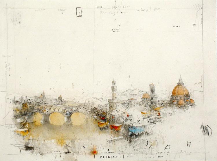 """""""Города, где я бывал..."""" Офорты и акварел5a8и ©Alexander Befelein"""