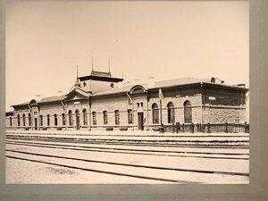 Пассажирское здание на станции Актюбинск