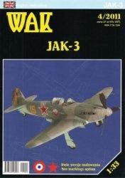 WAK 2011 №4 Jak-3.