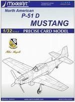 Журнал North American P-51D Mustang (Blue Angels 2) [ModelArt]