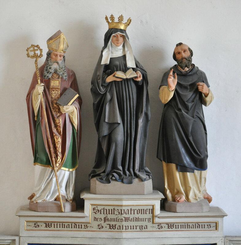 Waldburg Burgkapelle Altar Schutzheilige