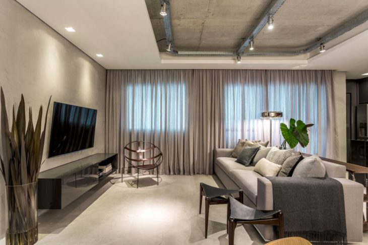 Apartment in Curitiba by Belotto Scopel Tanaka Arquitetura