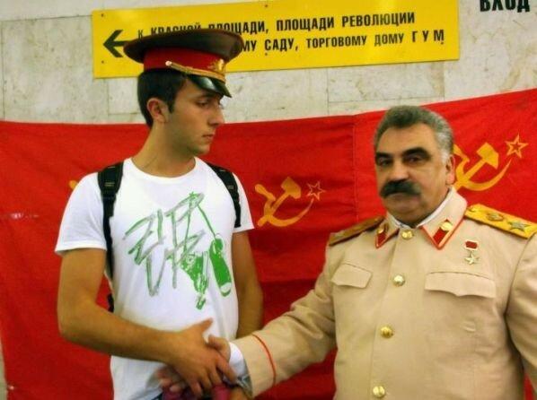 Косовские дети в Москве