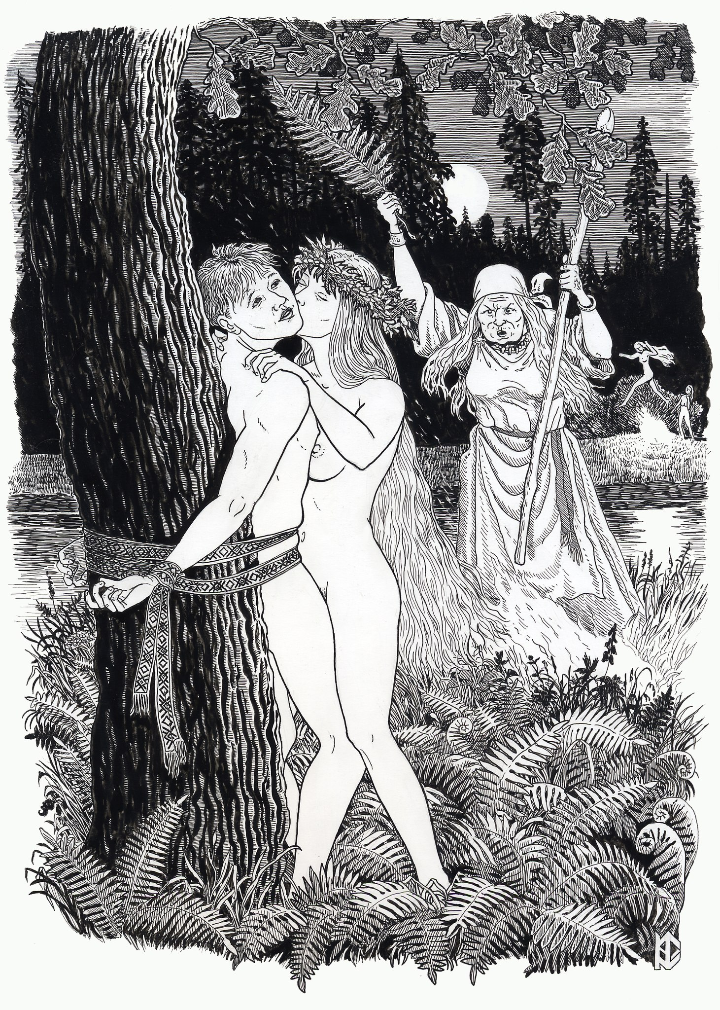 Эротика и секс древней руси