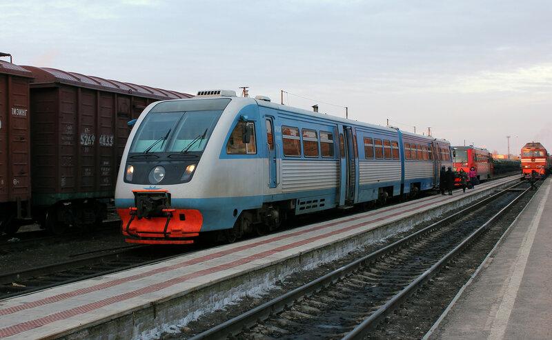 РА2-019 на станции Великие Луки