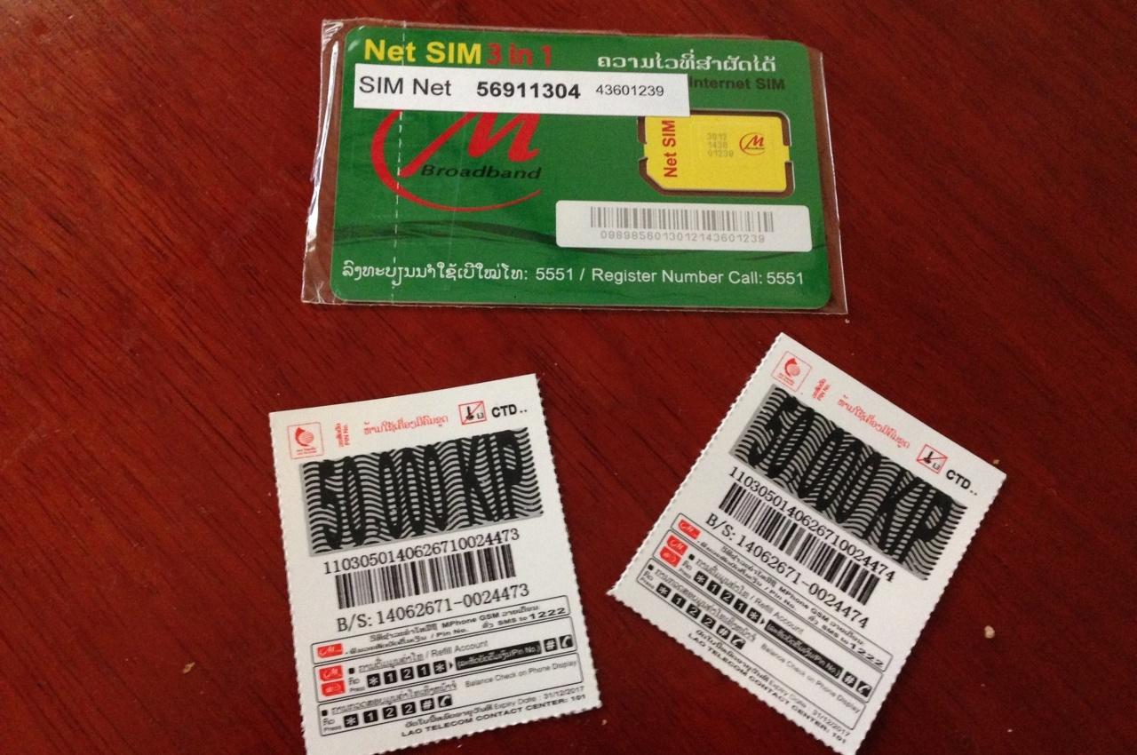 SIM и Refill карты
