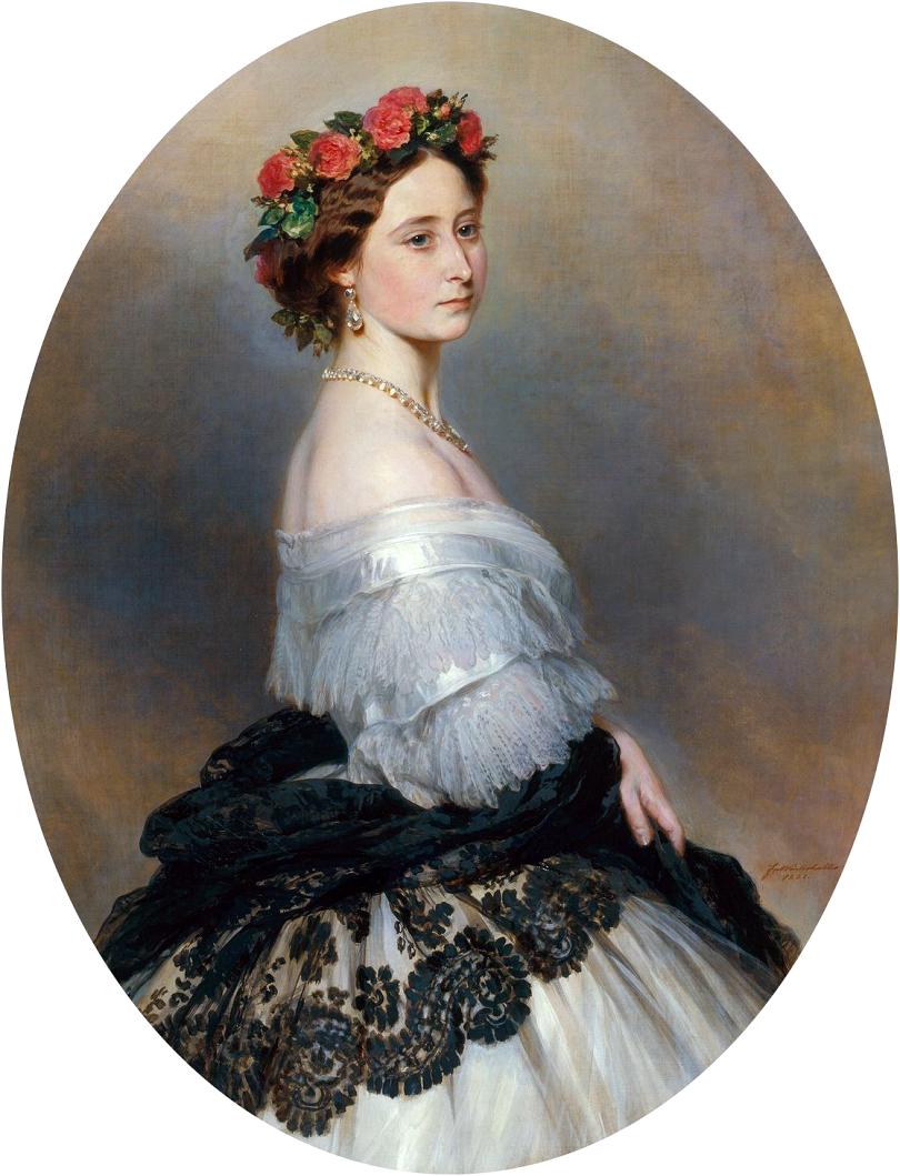 Franz Xaver Winterhalter (1805–1873) Link back to Creator infobox template wikidata:Q168659DescriptionPortrait of Alice of the United Kingdom 1861
