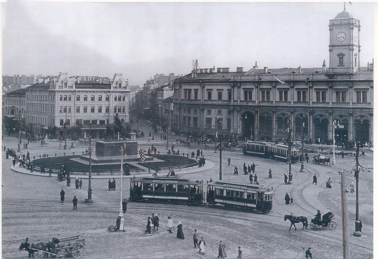 05. Знаменская площадь и Николаевский вокзал. 1910-1912