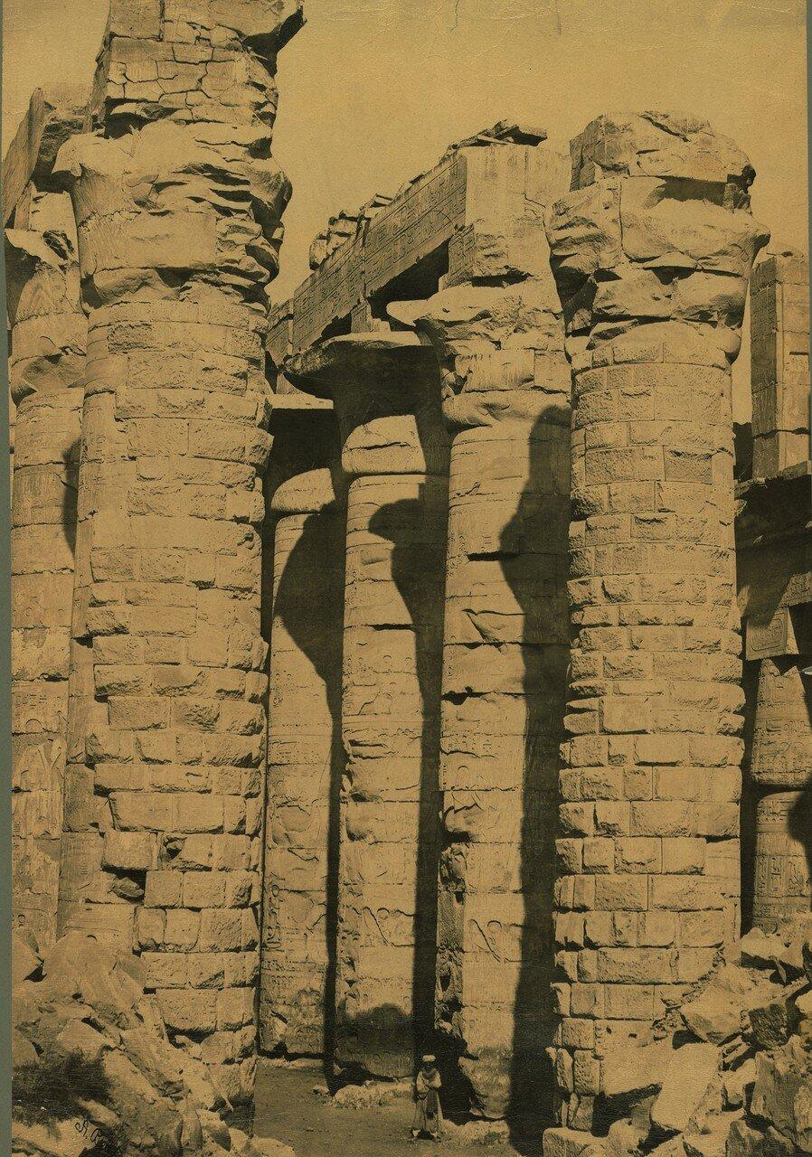 Фивы. Колонны Храма