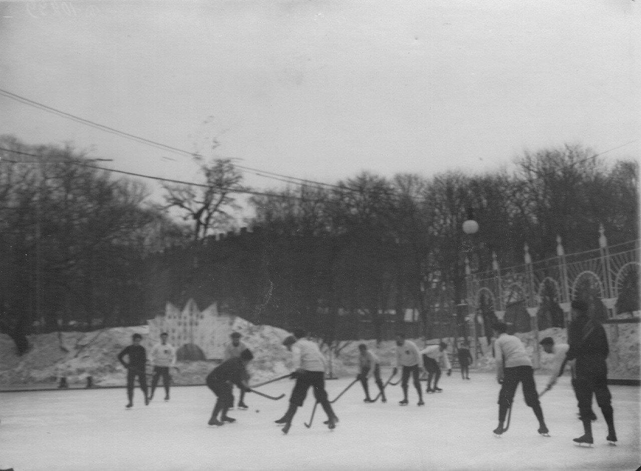 12. Матч хоккеистов Москвы и Петербурга на льду Юсупова сада. 6 января 1913