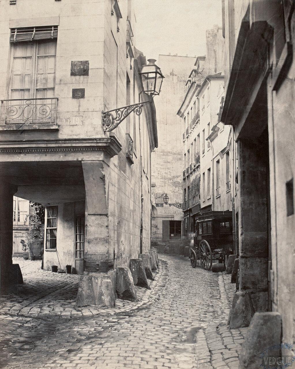 Рю Канониссы. 1865