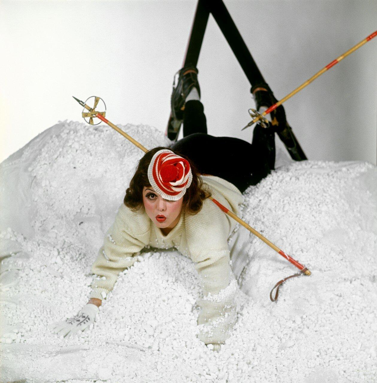 Claudia Cardinale - Chiara Samugheo Shooting