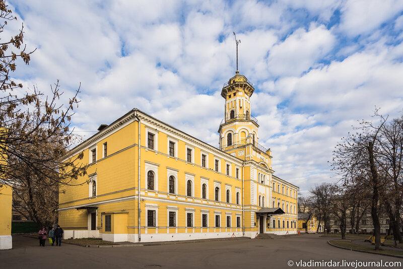 Каланча - Сущёвская полицейская часть и пожарное депо