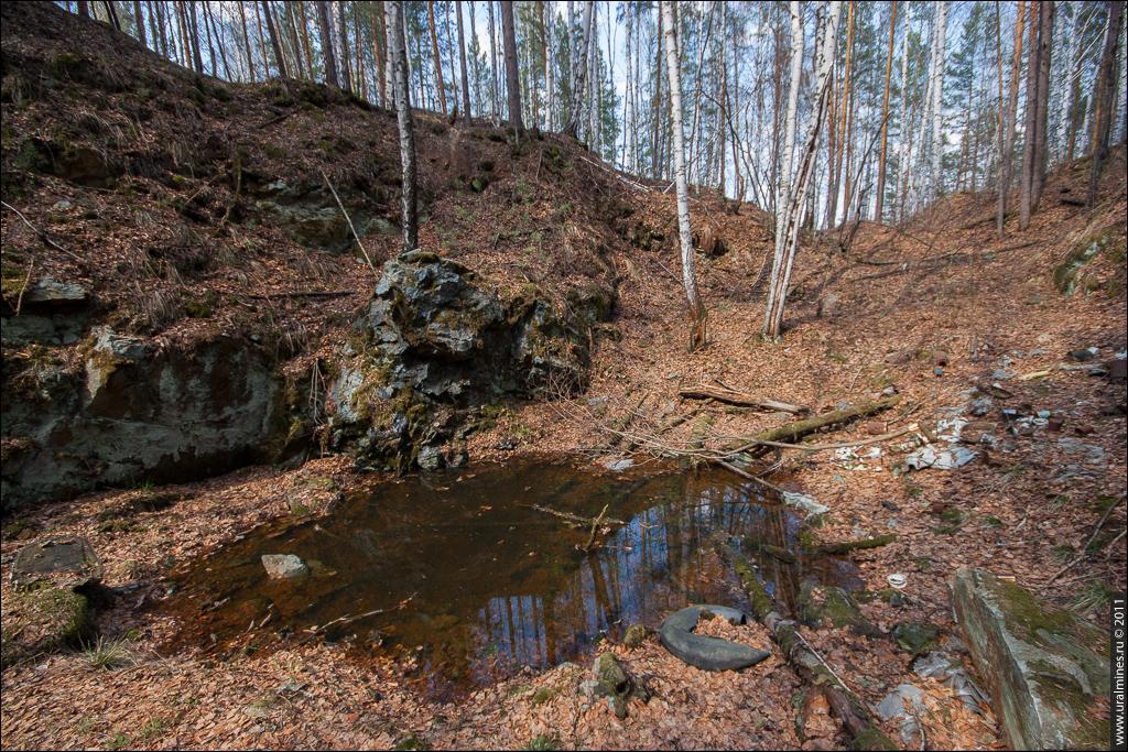 Шайдуровский хромитовый рудник