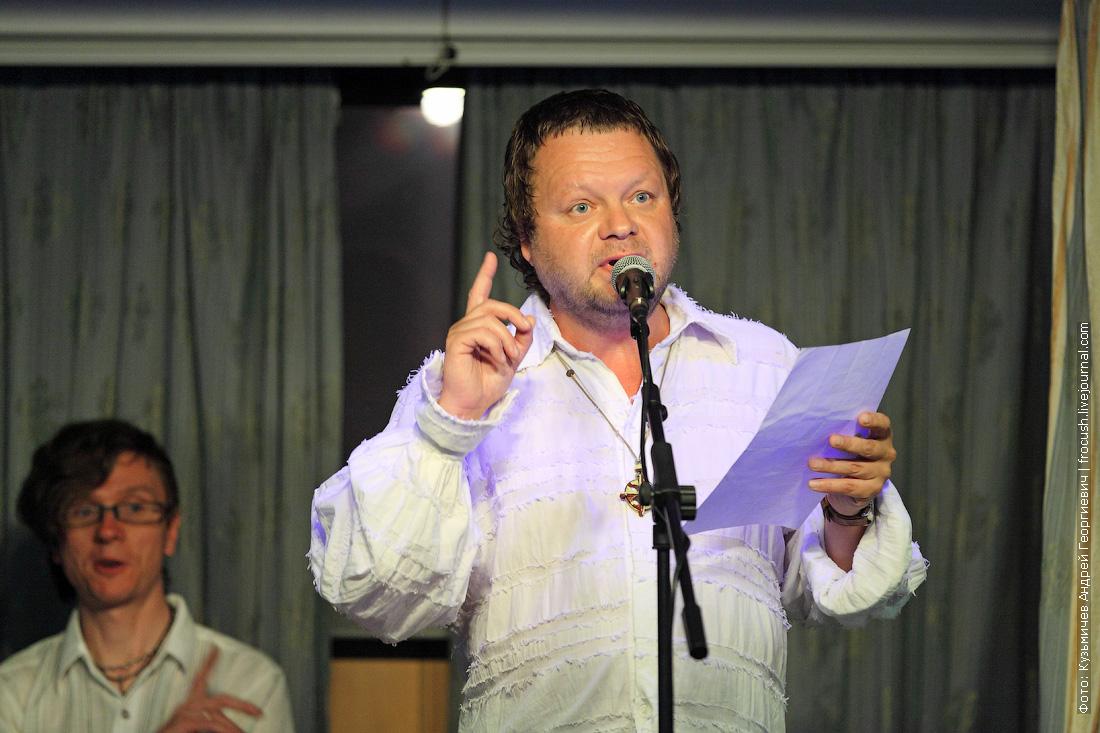 Вадим Степанцов выступает на теплоходе Михаил Булгаков