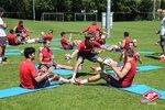 Тренировка Спартака после матча с Дорнбирном