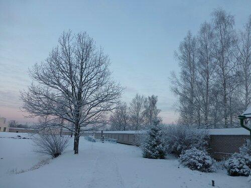 Утро в Вяжищском монастыре
