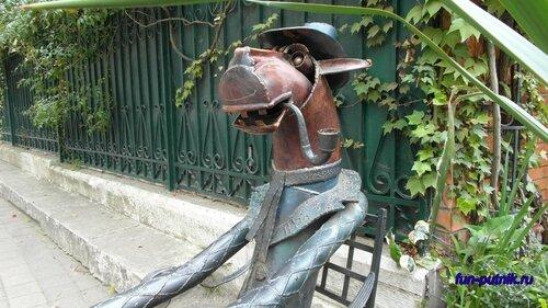 Конь в пальто в Сочи