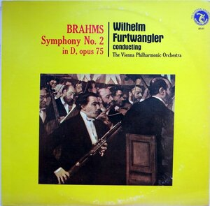 Brahms. Symphony №2 in D, opus 75 (1976) [Olympic Records, OL-8141]