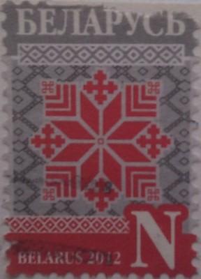 Белоруссия 2012 орнамент N