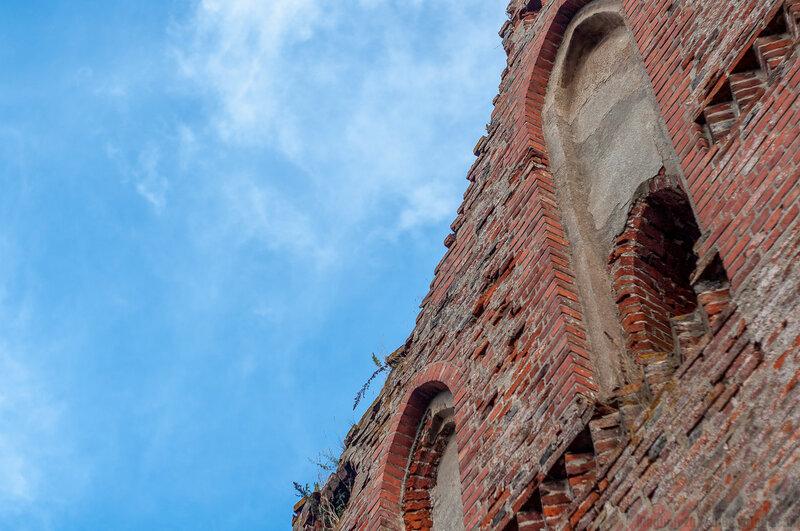 Die Kirche in Powunden