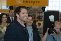 Фото и видео: Миша Коллинз в Москве 3 4 октября 2014 года