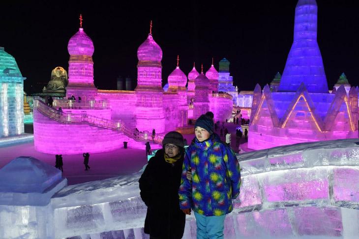 13. Фестиваль льда и снега в Харбине 2018.
