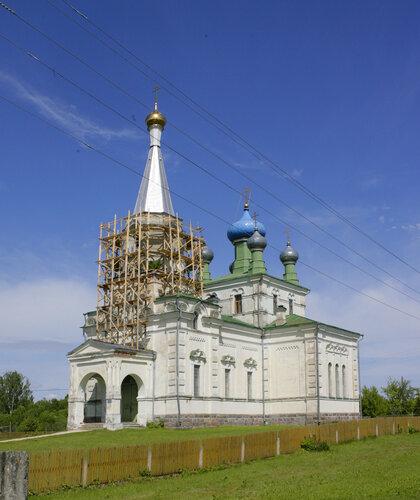 Храм Воскресения Христова пос. Старая Слобода