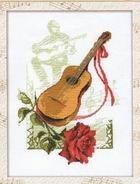 Журнал Буклеты вышивки крестом «Музыкальные инструменты»