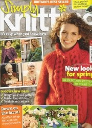 Журнал Simply Knitting №3 2007