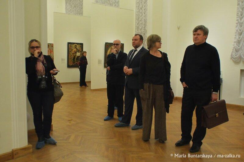 50 икон из Ярославского художественного музея, Саратов, Радищевский музей, 18 декабря 2014 года