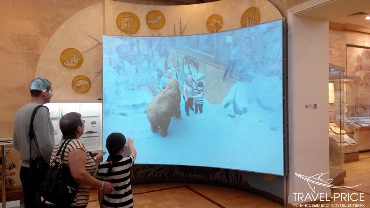 интерактивный мамонт в Казани