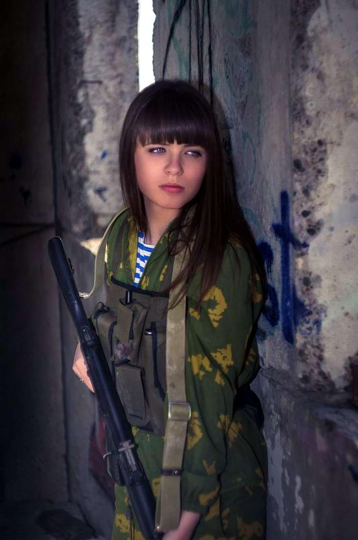 Боевые подруги: Фотосессия в стиле Military - лазертаг клуб - Отряд 61 - (Ростов-на-Дону) (3)