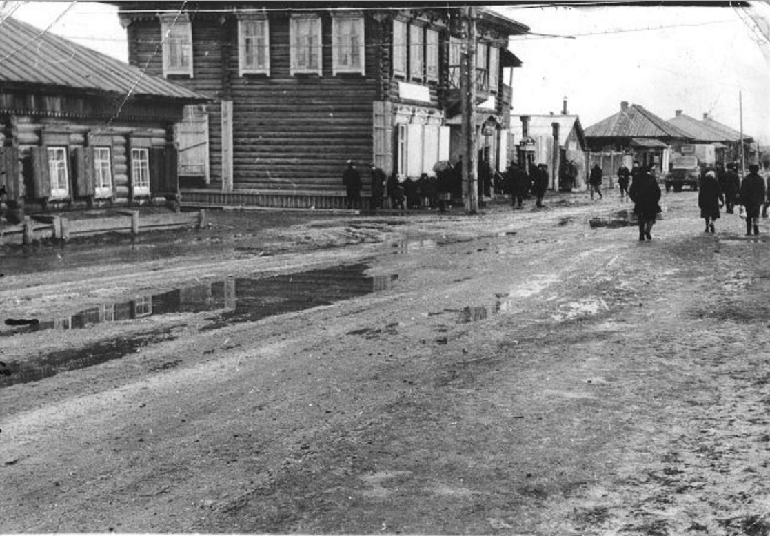Улица в райцентре Даурск