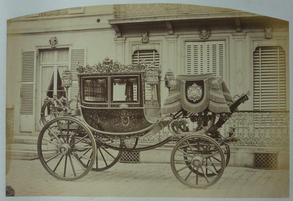 03. Карета турецкого султана Абдул-Азиза. 1867