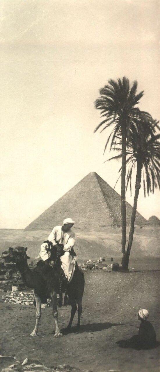 Гиза. Возле пирамид