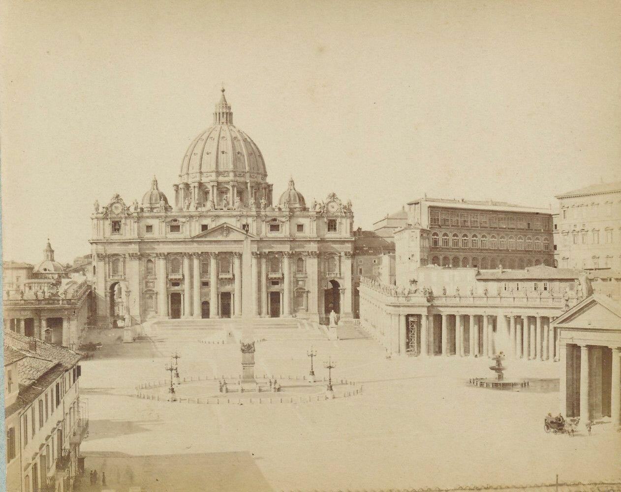 Площадь Св. Петра.1870