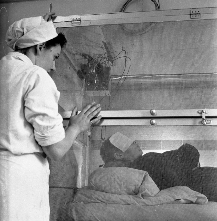 1945. Электрошок в больнице Сен-Анна