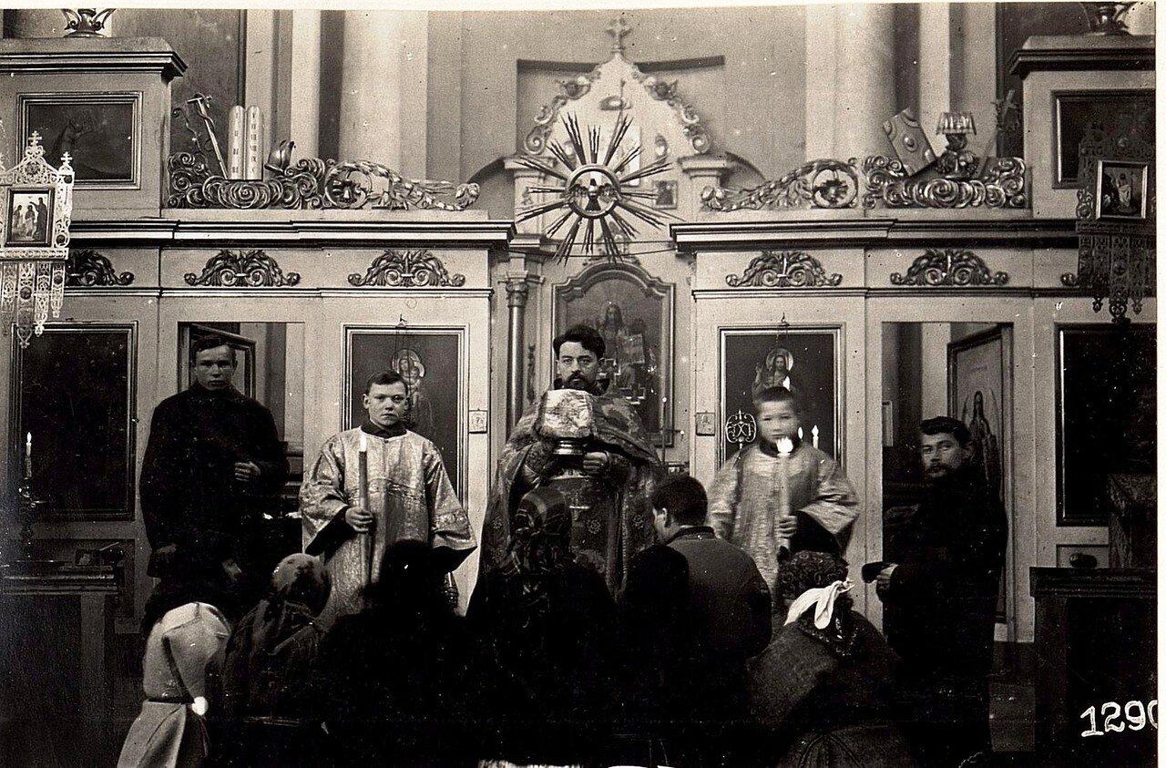 В униатской церкви