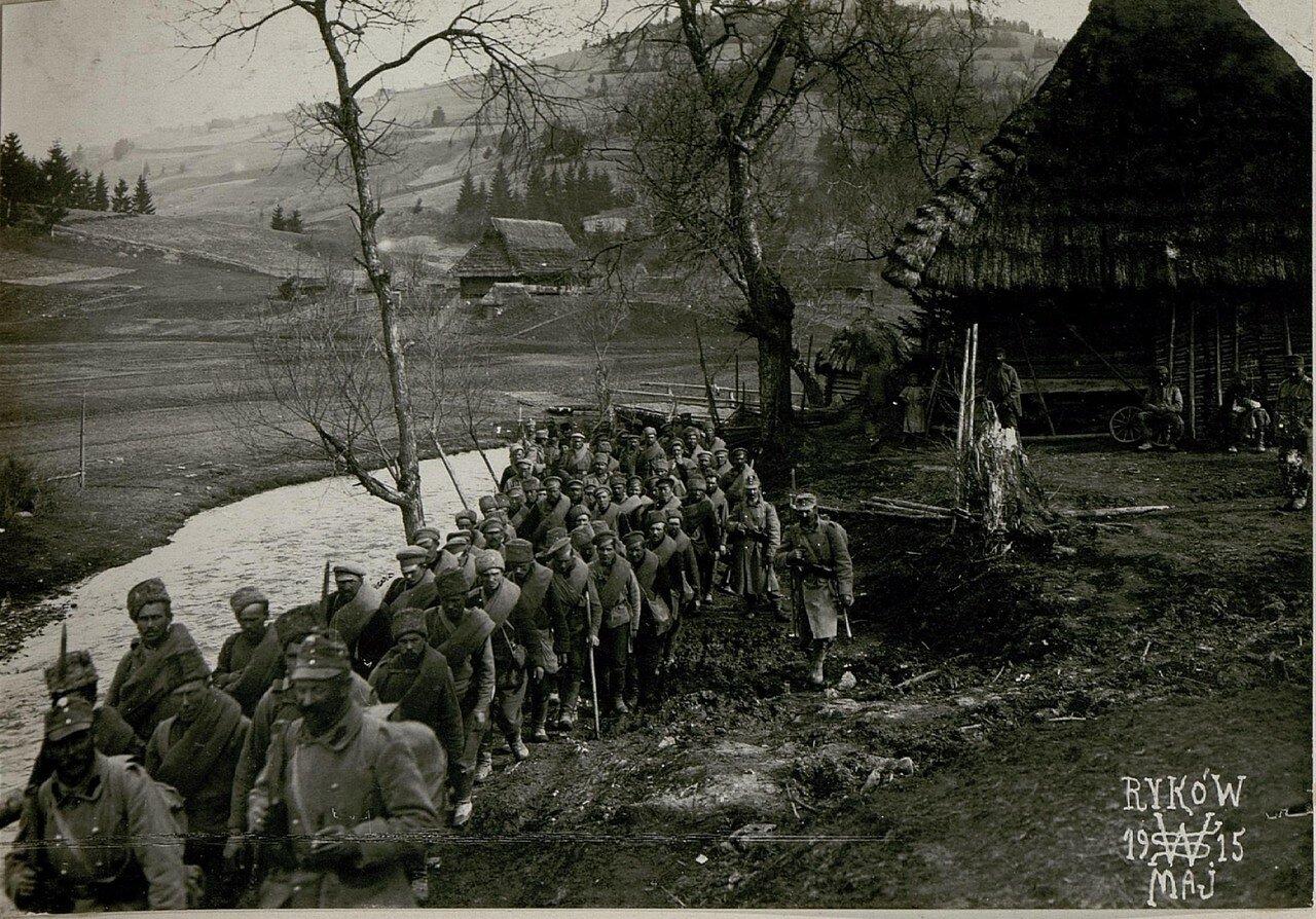 Русские военнопленные в Рыкове