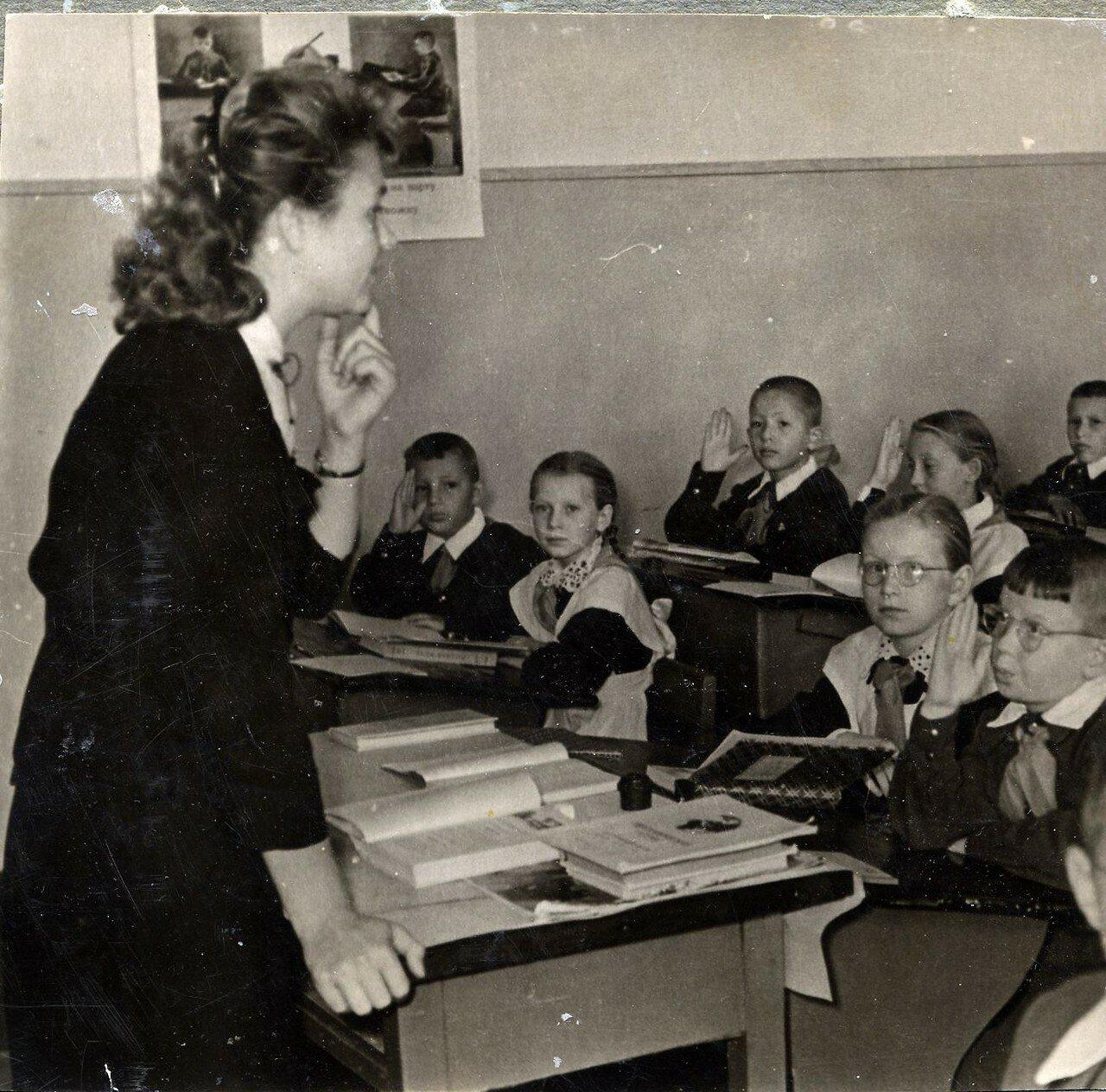 1950-е. Пятиклассники